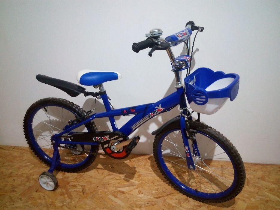 Bicicleta criança Kali Azul R20