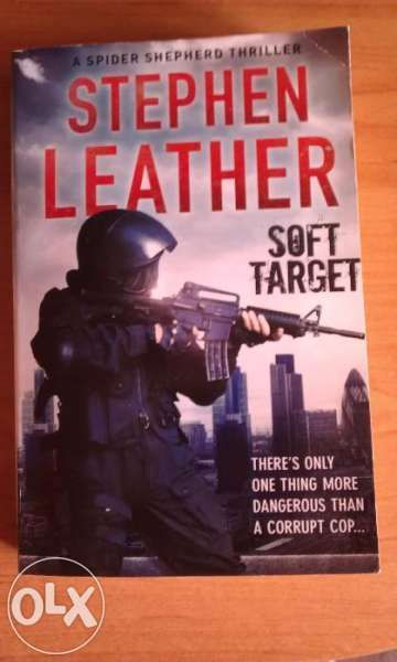 """Bestseller """"Soft Target"""" by Stephen Leather (трилър), Best Books 2015"""