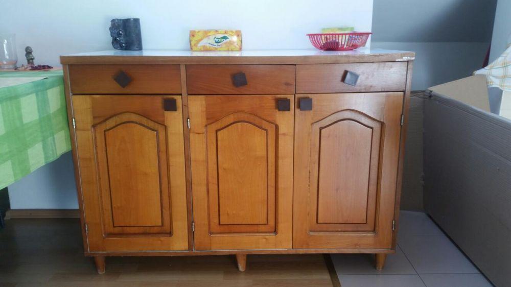 Bufet lemn vintage