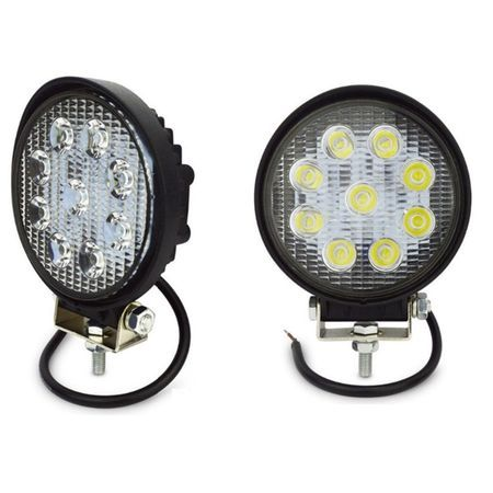 Proiector LED auto offroad 27W 10-30V pentru ATV, 4x4, SUV, Spot Beam