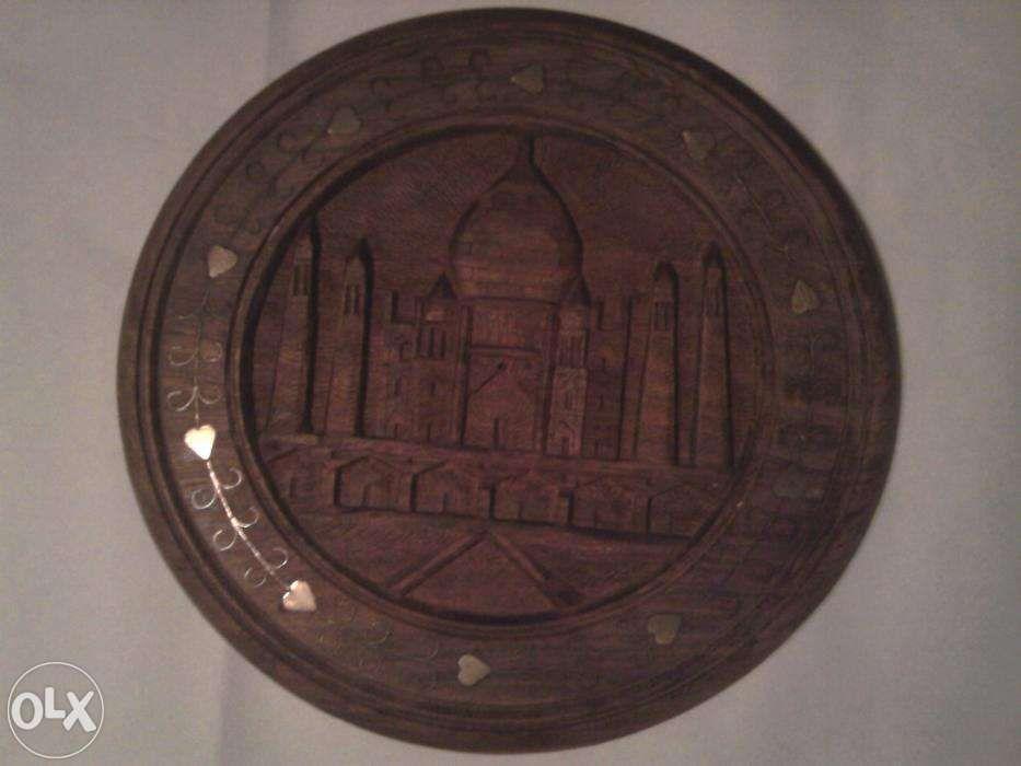 Moschee tablou sculptura orientala lemn