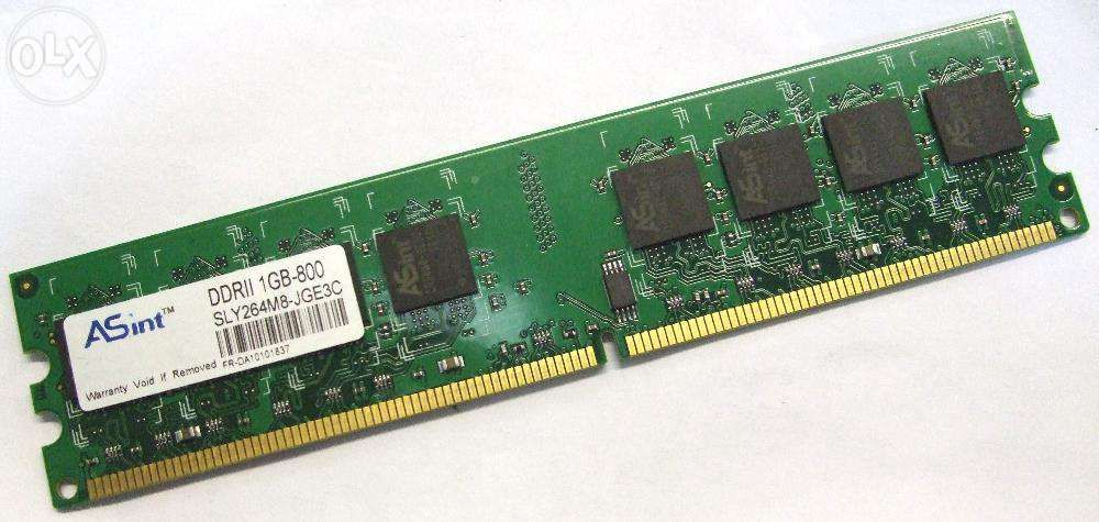 Memorii RAM 1Gb DDR2 800Mhz PC2-6400 Non-ECC DIMM