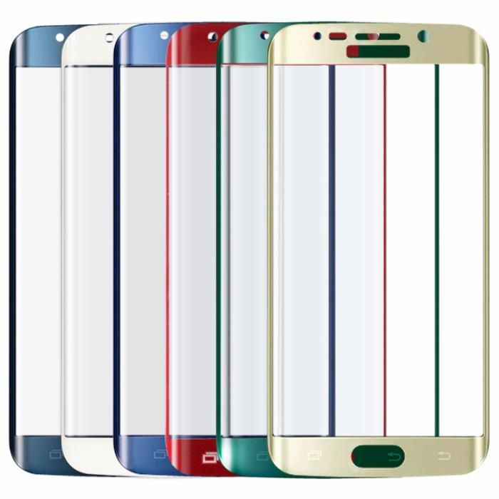 Samsung S6/S6 Edge Plus Folie Sticla Curbata Silver Gold Black Blue