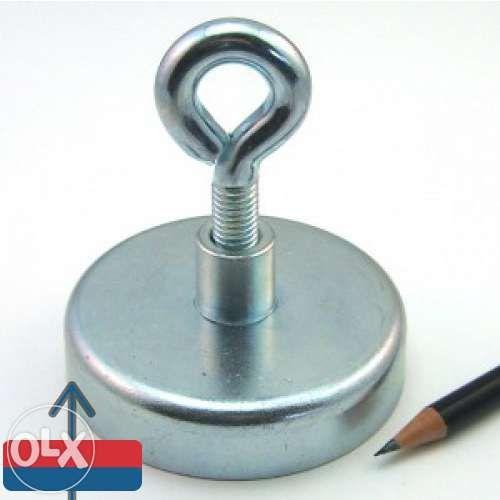Magnet fishing neodim oala D 75 mm puternic detector metale