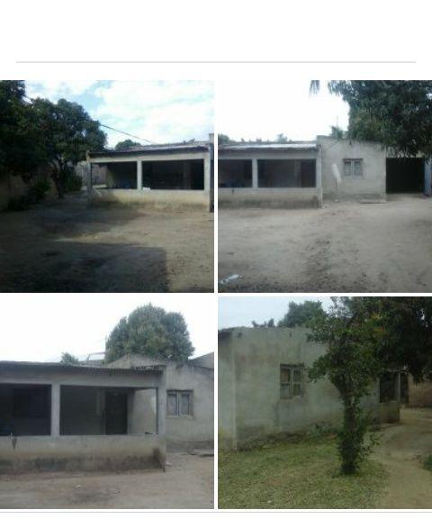 Matola Rio 50x30 a 50 metros da estrada [ Terreno + 1 casa T2]