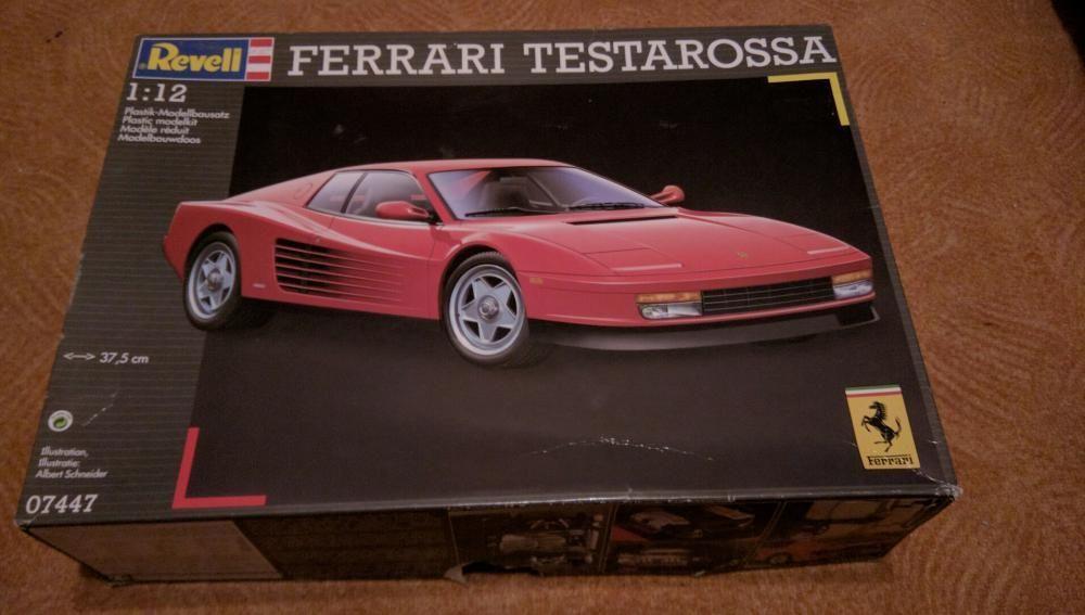 Ferrari Testarossa Revell - Nr. 07447 - 1:12 сглобяем модел