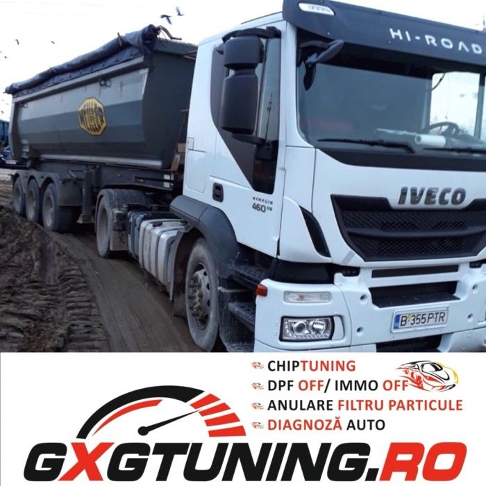 ECOTUNING camioane, tir, cap tractor