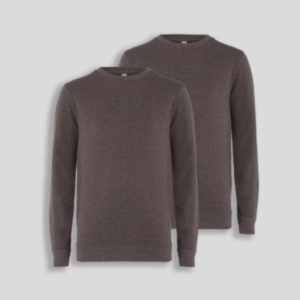 Сива памучна блуза TU размер S
