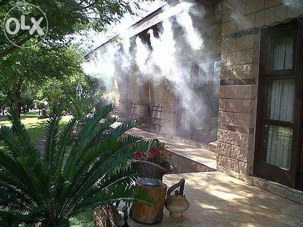 Водна мъгла Система за охлаждане с вода