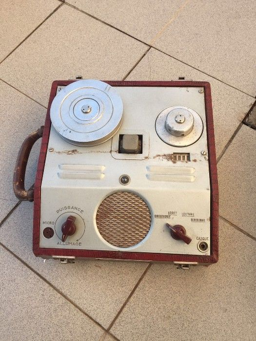 wire recorder francez