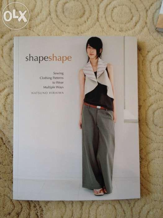 Vand revista croitorie Shape Shape de Natsuno Hiraiwa noua.