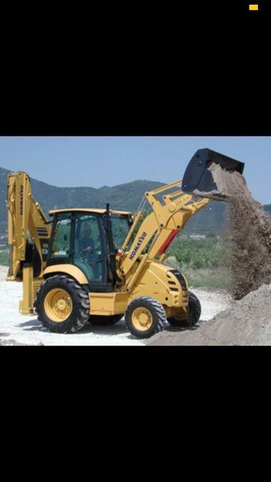 Buldoexcavator,Buldo,evacuare moloz,demolări,săpături fundații de casa