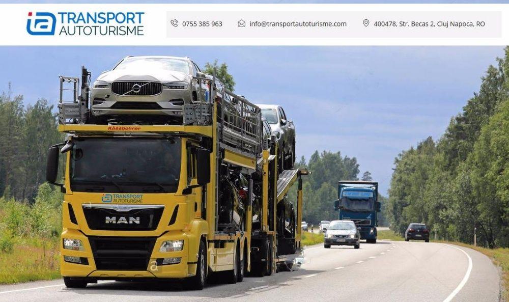 Servicii de Transport Auto/Platforma Auto in intreaga Europa