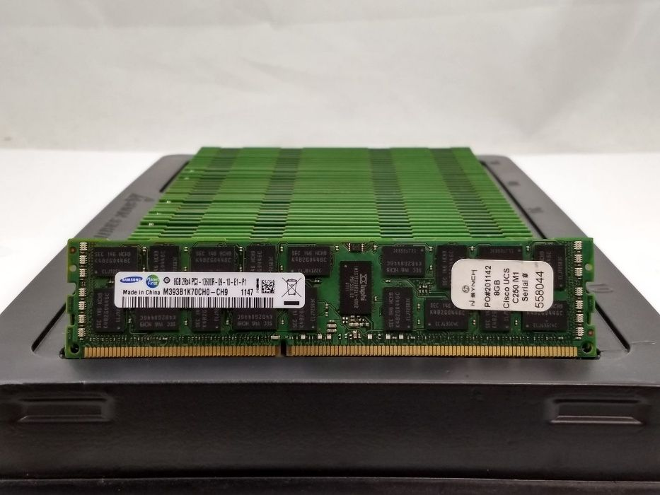 8GB сървърна рам памет DDR3 REG гр. София - image 1