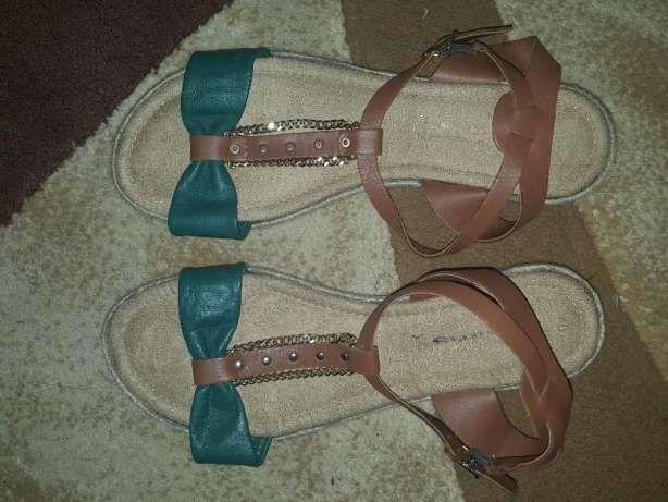 Sandale dama Tamaris din piele,noi