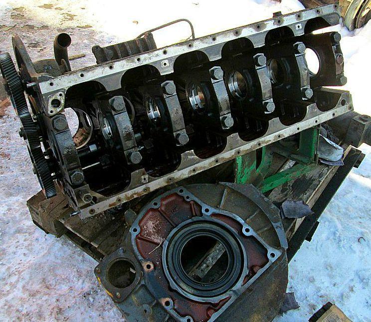 Piese de motor Hanomag 6 pistoane Turbo