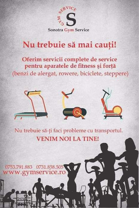 Gym Service: reparatii service banda de alergat la domiciliu/ sediu