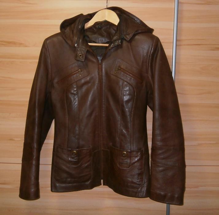 Haina ( jacheta ) piele de dama , marca Magura , marimea L ( 46 )