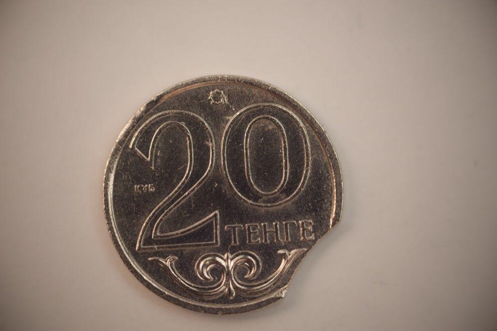 "Монета 20 тенге "" выкус"""