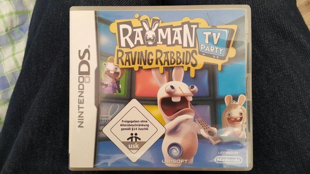 Joc pentru Nintendo DS-Rayman raving rabbids