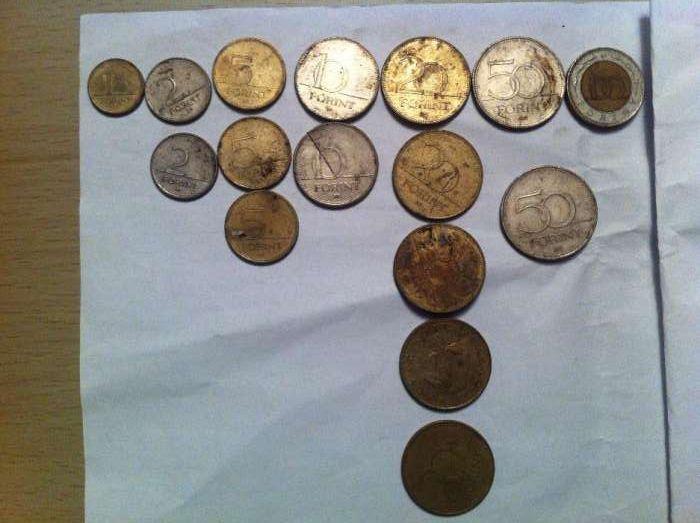 monede forinti 1 2 5 10 20 50 100