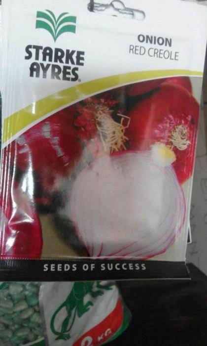Semente de cebola- alto poder germinativo.99%