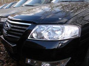 Защита фар на Nissan