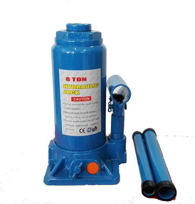 8 т Крик хидравличен бутилков с предпазен клапан