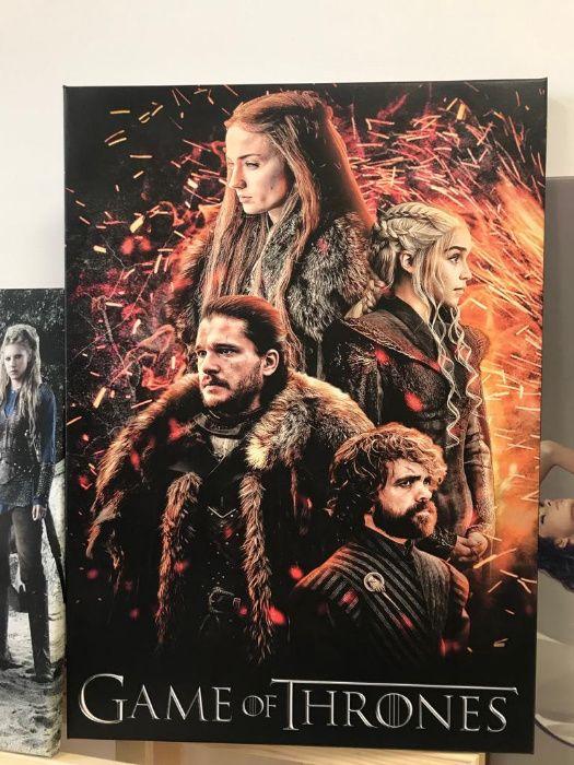 Tablouri, postere filme, seriale(Game of Throne, Breaking Bad)