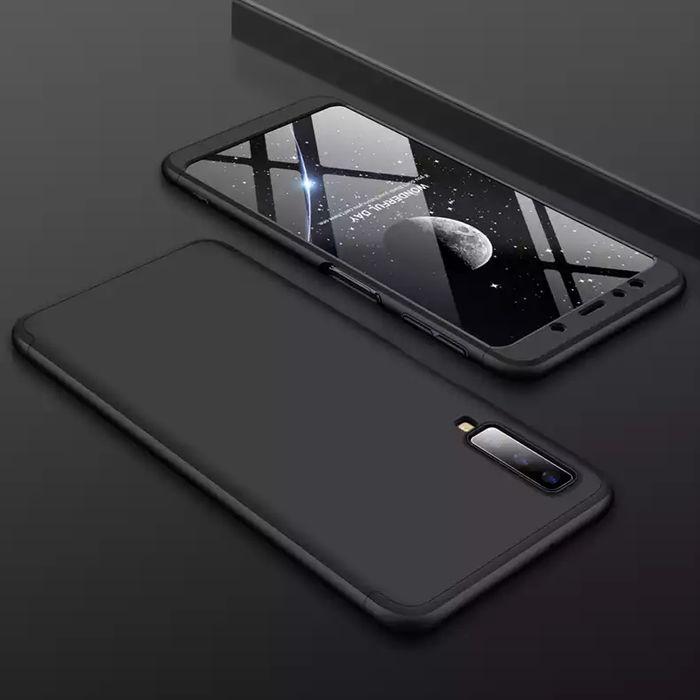 Кейс 360° градуса мат за Samsung Galaxy A7 2018 / A9 2018 + протектор