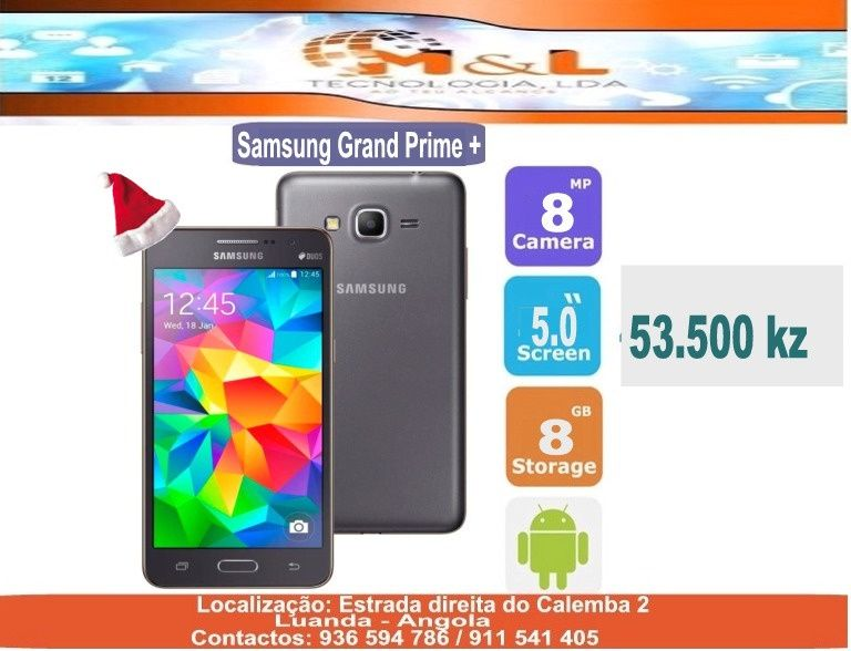Telemovel Samsung Grand Prime novo original