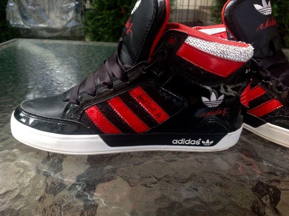 Bascheti Adidas din piele originali