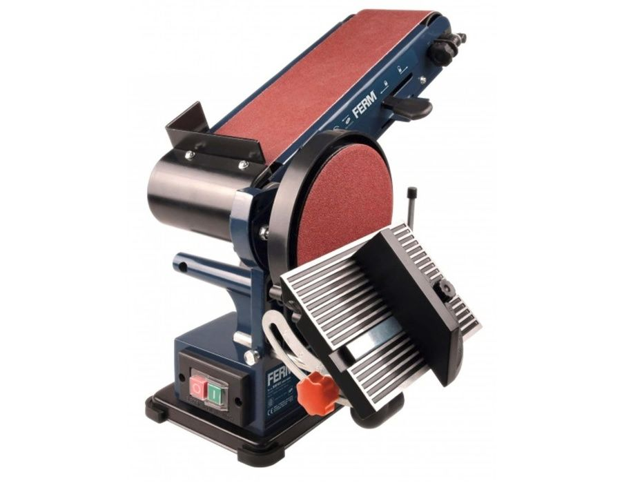 Slefuitor fix si cu banda FERM BGM1022, 350 W, 150 mm