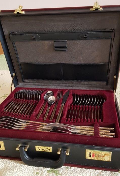 Nivella чемодан столовых приборов 81 предмет.