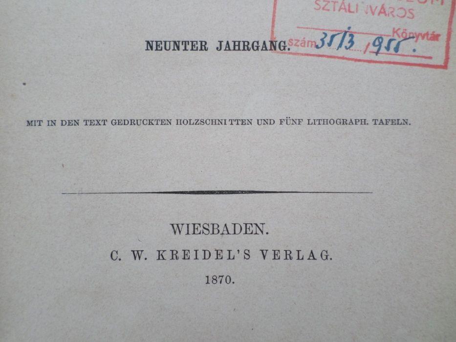 Carte veche germana : Chimie Analitica Remigius Fresenius 1870 Focsani - imagine 4