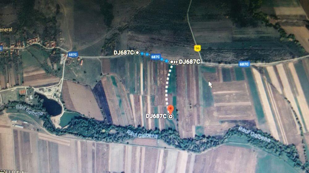 Vanzare  terenuri agricol  17 ha Hunedoara, General Berthelot  - 10000 EURO