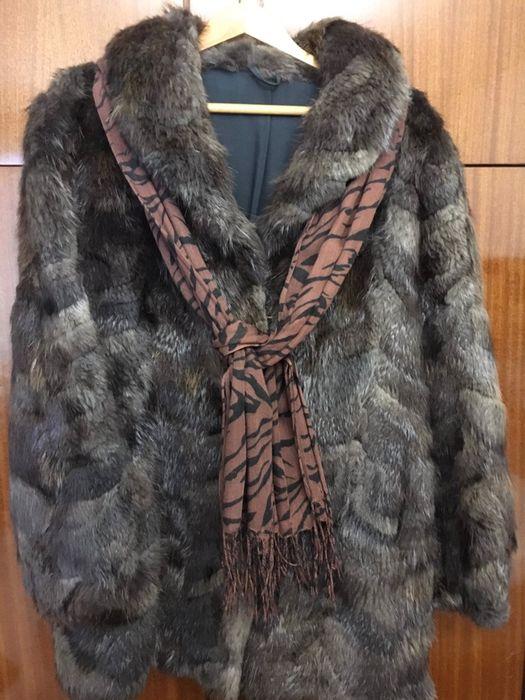 Дамско палто от норки
