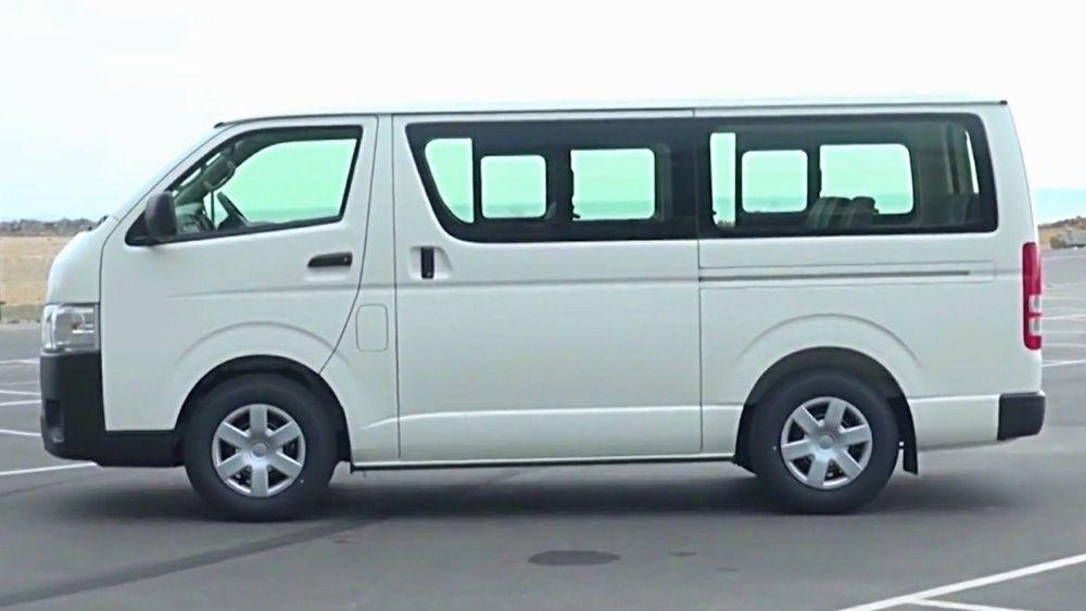 Aluguer de Viatura Toyota Hiace Mini Quantum Para todo tipo de evento