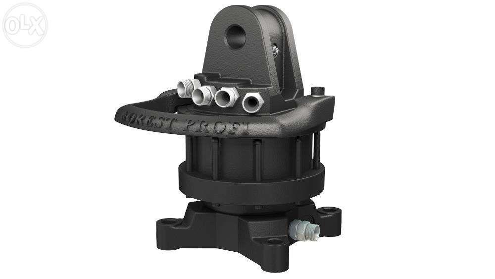Rotator hidraulic 4 tone cu flansa pentru graifer