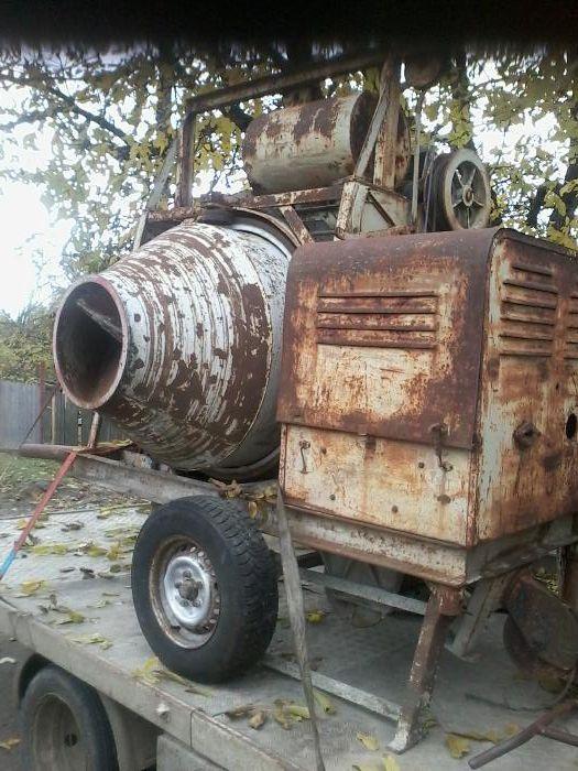 Betoniera diesel raritate pluguri lemken