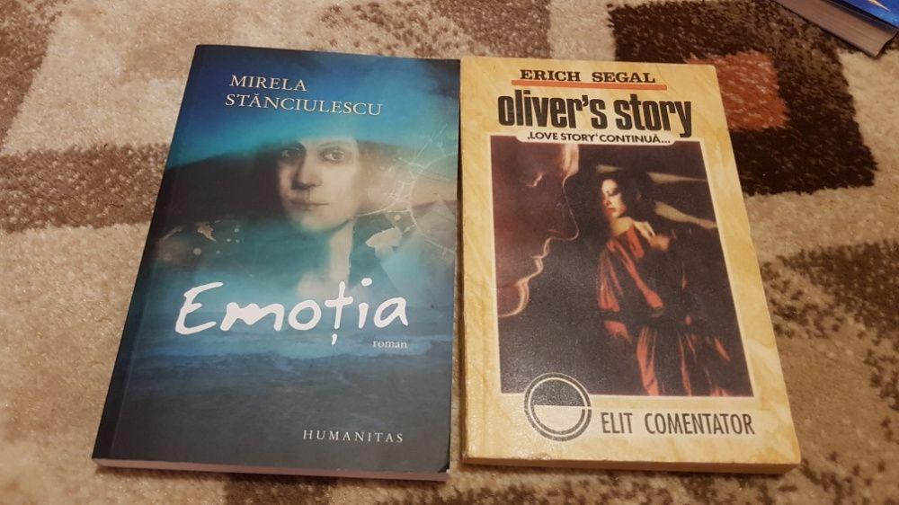 Emoția de Mirela Stanciulescu + Oliver's story de Erich Segal