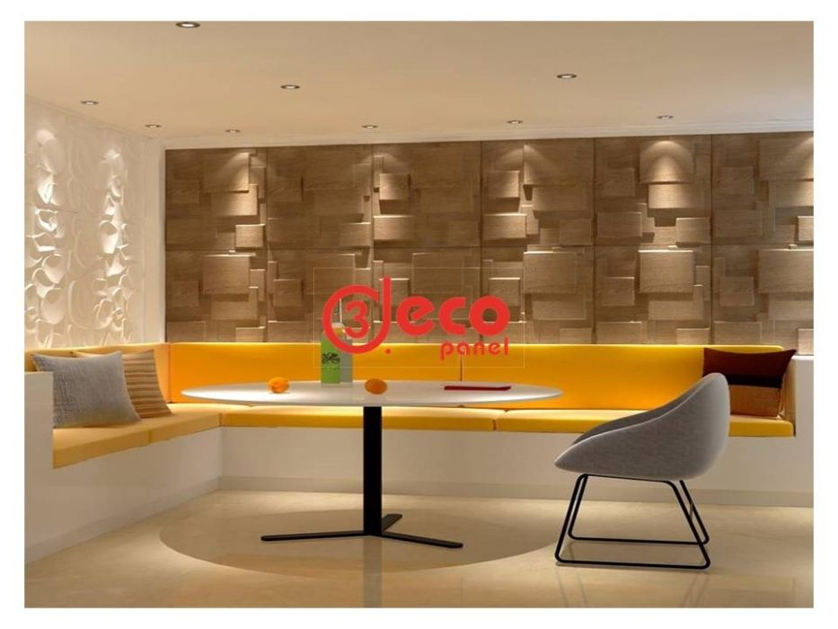 CHOK-Deco panel 3d, tapet 3d, decoratiuni perete 3d, placa eco decor