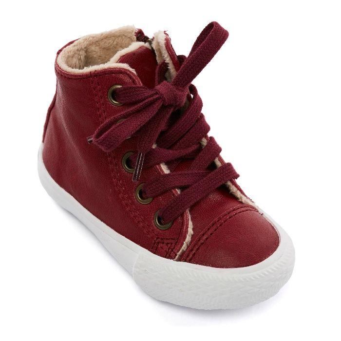 Ghete / bocanci din piele imblaniti copii Diminutive sneakers - Mar.20