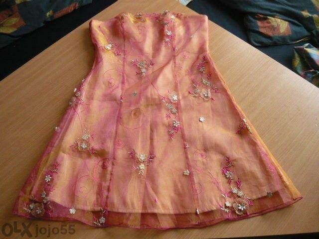 Елегантна рокля бюстие 50лв;ТОП кафяв-20лв ;клин на ESMARA