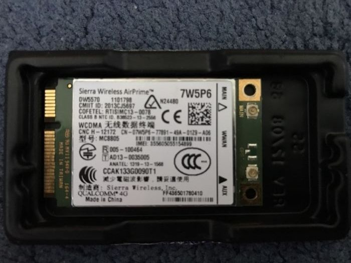 Dell modem 3g/4g sierra wirless airprime
