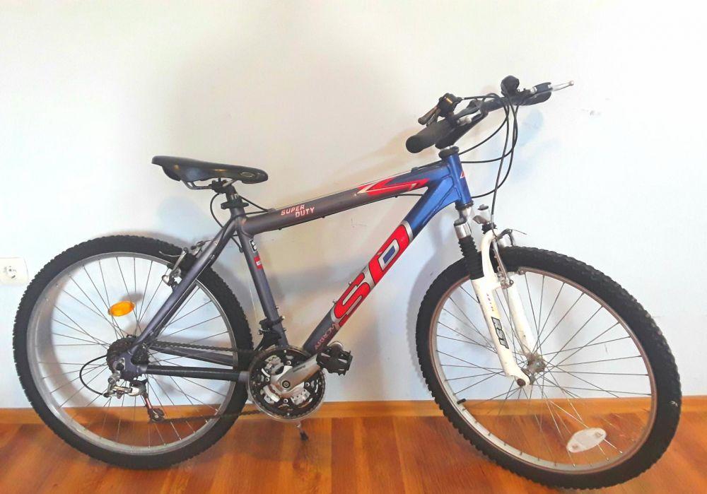 Bicicleta MTB SD cadru din ALUMINIU, Roti 26 - IMPECABILA - 550 Lei