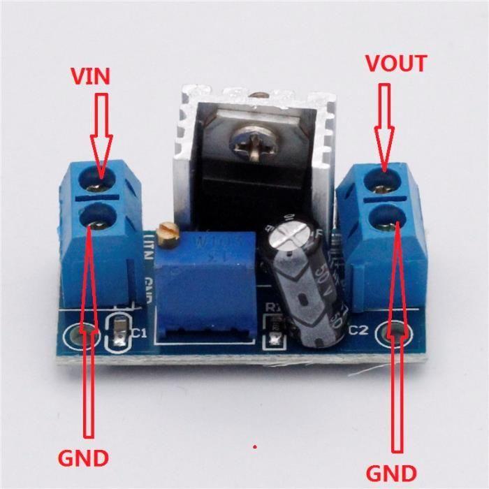 Convertor reglabil 4.2-40V