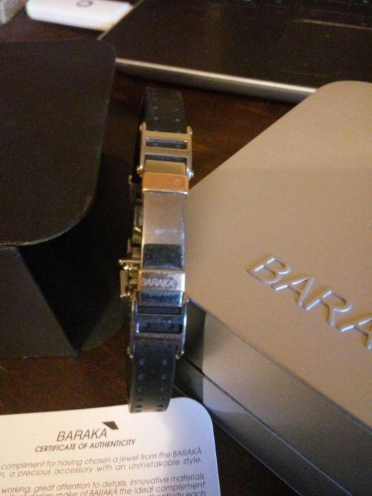 Baraka brățară aur otel silicon