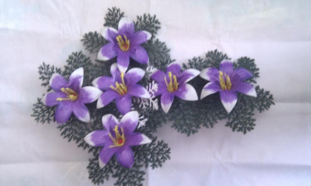 Coronita flori artificiale