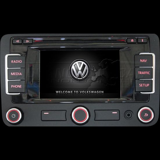 Card original SD VW RNS 315 Golf Passat Touareg Tiguan Touran CC Eos